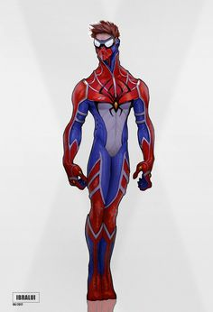 i designed a new Spider-man suit