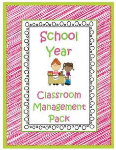 Open House, Transportation, Rewards, Behavior and more!  Lots of cute and helpful charts, forms and cards to organize your school year! $