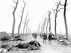 The Menin Road, Ypres c. 1916