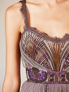 Sequins & Chiffon. So Gorgeous!