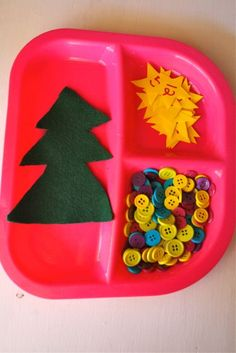 Christmas Math-great idea. Can be used interchangeably-any season-toddlers preschool-or center idea