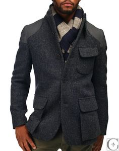 Nigel Cabourn Mallory Jacket Harris Tweed from store: Context