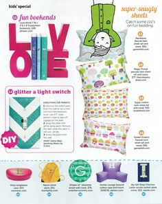 Rosenberry Rooms is featured in the September 2014 issue of HGTV Magazine! – Personalized Stripes Wall Clock