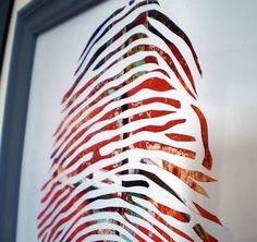 paper cut thumb prints