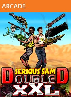 Serious Sam Double D XXL is shaping up quite nicely for XBLA. Cooperative mode is going to be absolutely nuts. http://yfrog.com/ocfagrlxj