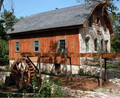 Homestead Heritage  Grist Mill by Jerry Francis