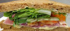 One of our well filled sarnies !