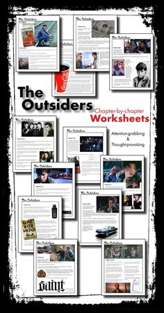 Get your pre-teen homeschooler excited about your language arts lessons with these compelling worksheets to use with S.E. Hinton's novel, The Outsiders. Hook the eyes and engage the brains! Detailed answer key included, of course.