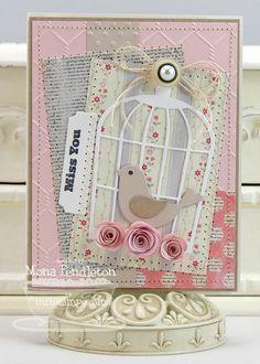 Contempo Cage Die-namics and Stamp Set - Mona Pendleton