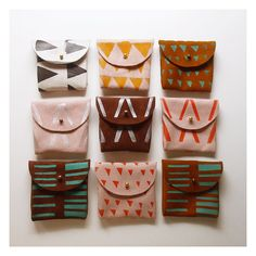 Really really cool Coin purses!