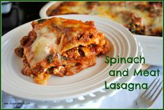 Spinach and Meat Lasagna