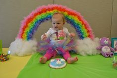 Miss Priss Purple: Care Bears Party {First Birthday}
