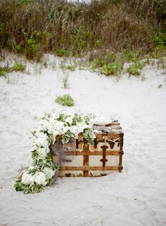 Photography: Koby Brown, Archetype - ArchetypeStudioInc.com  Read More: http://www.stylemepretty.com/2014/09/03/shipwrecked-seaside-wedding-inspiration/