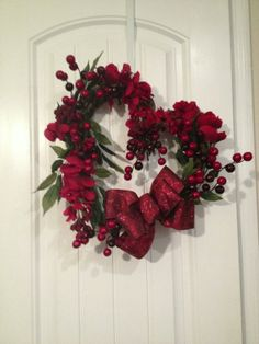 Valentine wreath idea