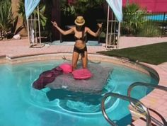The bed threw itself into the pool to escape all these bitches. - Bad Girls Club Recap