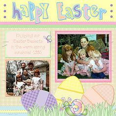 Don't forget to get this week's FREEBIE for your DJ Easter basket!!!  Just 'gather' some of your favorite spring photos, recipes or ideas... and add them to this adorable 'scrapbook' page for instant Easter smiles! Only available through 4/9/14....