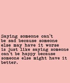 Definitely okay to be sad or happy