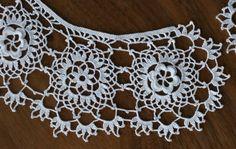 Irish Crochet Lace Collar - free pattern download; thanks!
