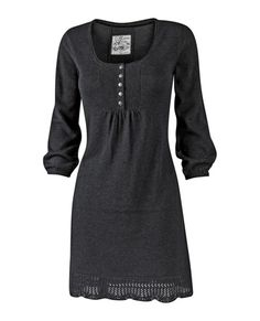 Love this dress! With leggings and boots for the winter!