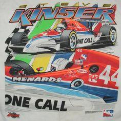 Steve Kinser Indy 500 T-Shirt kinser indi, vintag tshirt, steve kinser, 500 tshirt, indi 500
