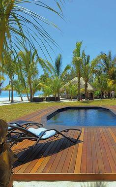 ✮ Dinarobin | Le Morne, Mauritius ✮ (http://www.facebook.com/BeautyOfMauritius)