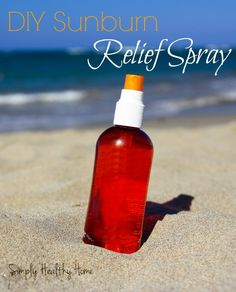 DIY sunburn relief s