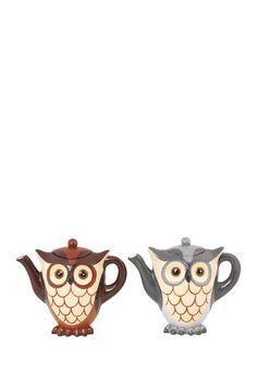 Owl Teapots - adorable