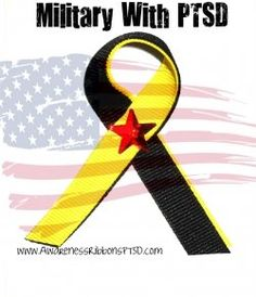 PTSD Awareness Ribbon.  Fly it for our combat veterans they deserve the support!