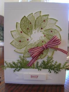 Christmas Window by LoriKirkS68 - Cards and Paper Crafts at Splitcoaststampers