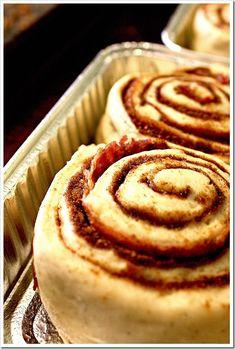 Bacon Swirl Cinnamon Rolls
