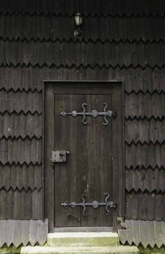 sebastian church, door