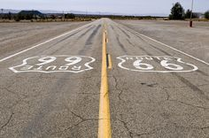 Route 66 on Harley RoadKing one day...