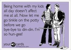 Stay at home mom's