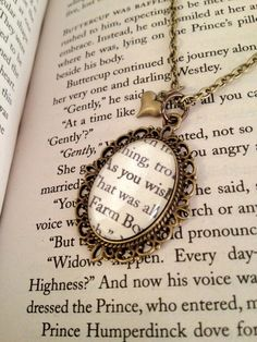 The Princess Bride As You Wish Necklace
