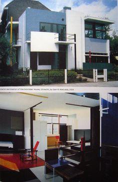Rietveld Schröder House, Gerrit Rietveld (1924-25) - interior