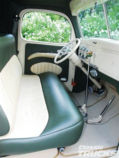 1941 Dodge Truck Seats