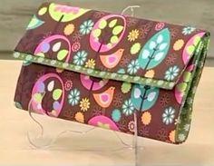 artesanato como fazer carteira caixinha de leite forrada tecido