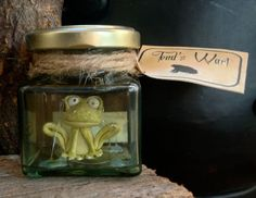 Witch's Ingredients  Toad's Wart Magic by BlueFishStudiosShop