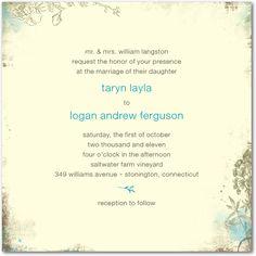 idea, rustic gardens, weddings, wedding invitations, aqua, diva, bridal shower invitations, bridal showers, wedding papers