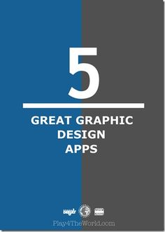 5 Great Graphic Design Apps...I need this! #graphics