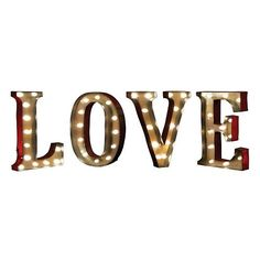 Apothecary ''LOVE'' LED Marquee Sign Decor