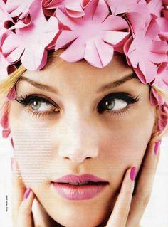pink glam.
