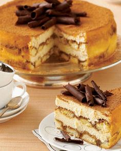 Tiramisu Cheesecake! I am officially drooling.
