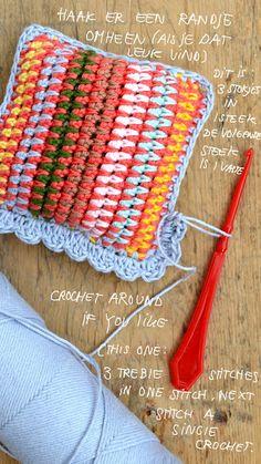 Crochet Cushion - Tutorial.
