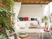 Bring vacation-style comfort to your patio with cushy all-weather furnishings and accessories worthy of a posh getaway