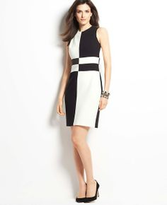 Petite Penthouse Sheath Dress