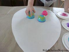 Fun Easter craft for preschoolers - Make an Easter egg craft