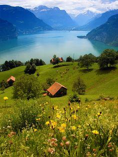 Lake Lucern, Switzerland..