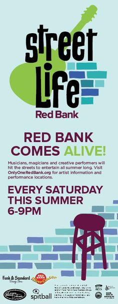 Every Saturday night in Red Bank!