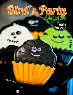 Bird's Party Blog - cute cookie ideas